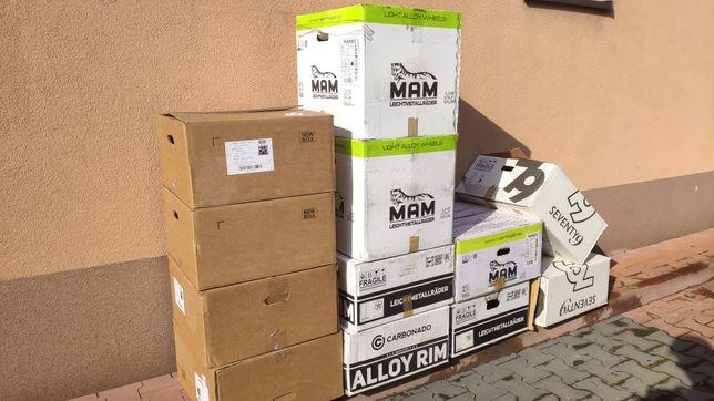 Kartony na felgi aluminiowe/ do przeprowadzek/ do pakowania paczek.