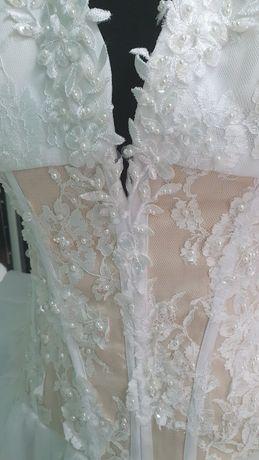 Suknia ślubna, używana tylko raz
