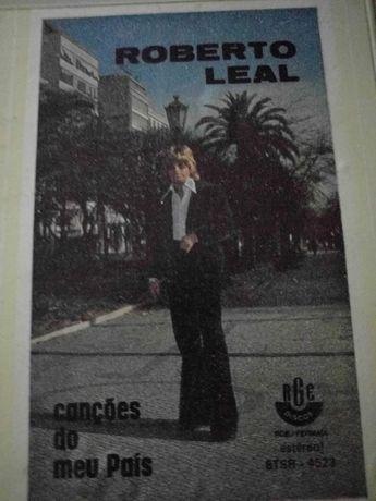 Disco Singles e Cartucho de Roberto Leal