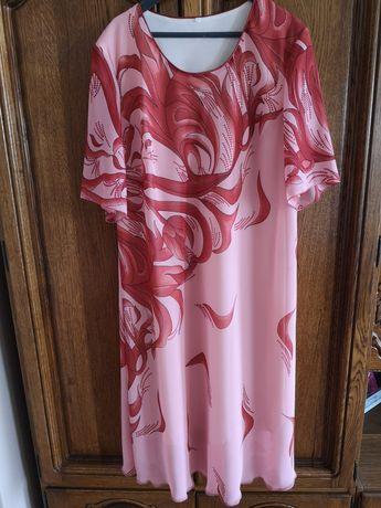 Suknia z żakietem rozmiar 50