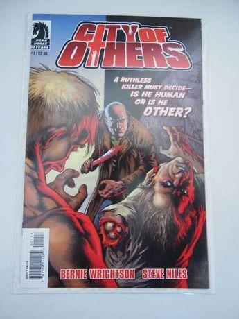 City of Others comics (Steve Niles, Bernie Wrightson) Dark Horse