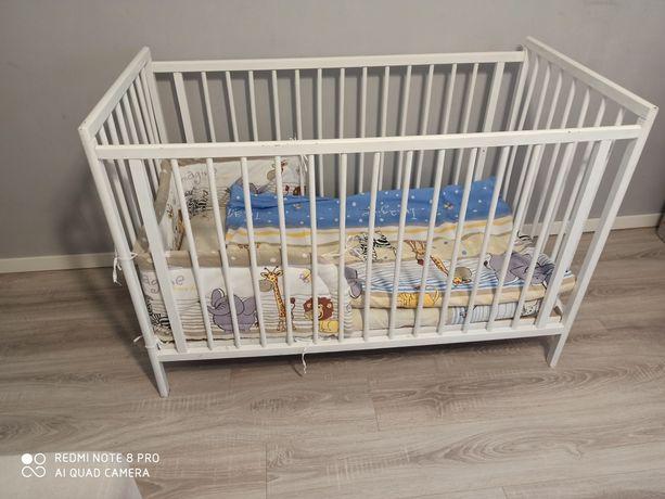 Łóżeczko niemowlęce 60x120