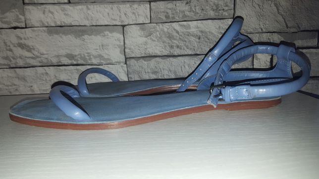 Zara basic klapki damskie sandały rozmiar 41