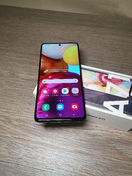 Продам Samsung A71 (SM-A715) 6/128Gb Prism Crush Black Официал+Гарант