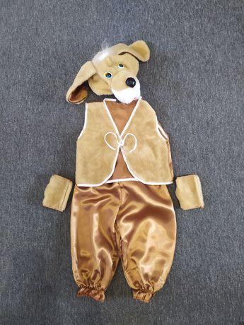 Новогодний костюм собачки. Карнавальный костюм.