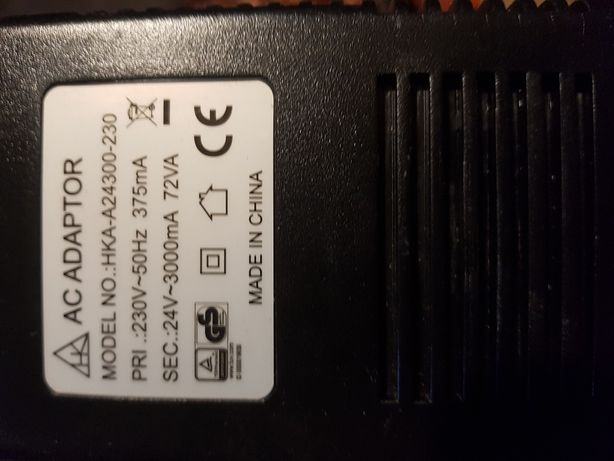 AC adapter zasilacz 24v