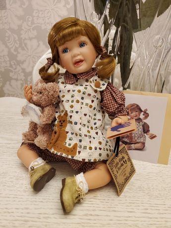 фарфоровая коллекционная кукла От Boyds Elise