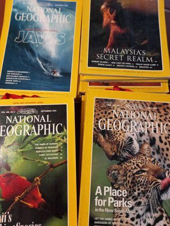 Revistas da National geographic anos 90