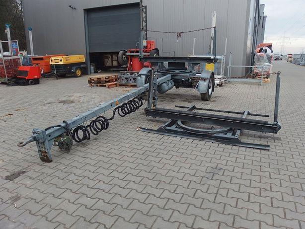 Przyczepa dłużycowa dłużyca FLIEGL 5T stali słupów drewna Energetyka
