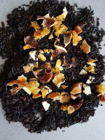Czarna herbata z owocami