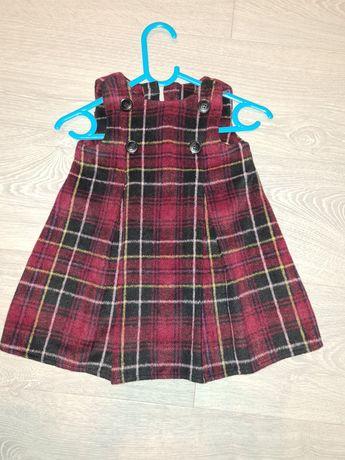 Sukienka świąteczna rozmiar 80, stan idealny