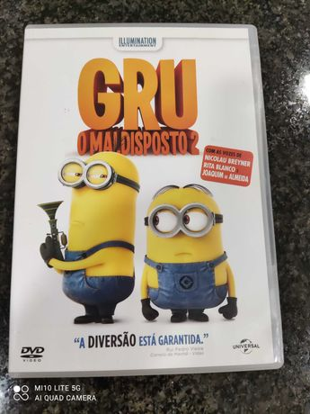 DVD - Gru O Maldispoto (2)