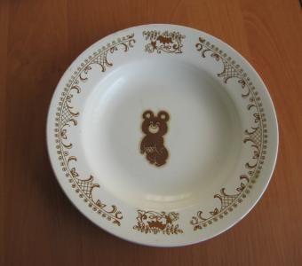тарелка олимпиада 80 редкая