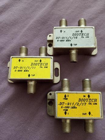 Rozdzielacz antenowy, tv, DVB-T , antena