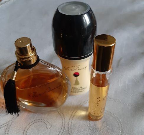 For Away AVON zestaw 3 kosmetyków