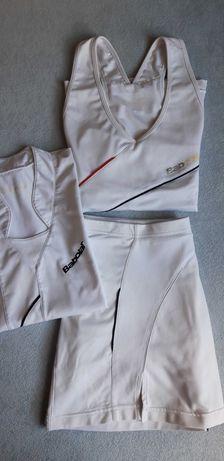 Zastaw Babolat- Top + spódniczka + GRATIS T-shirt, do tenisa, roz L/40