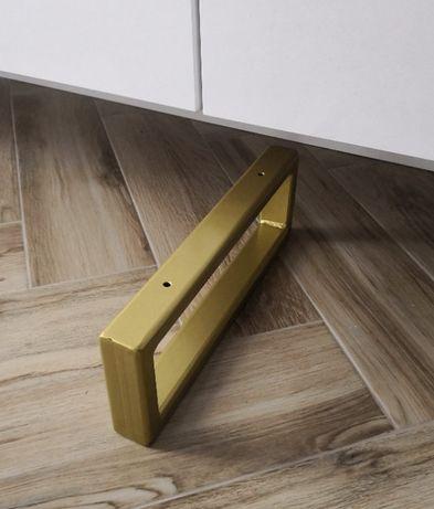 Nogi do szafki/komody ART-DECO LOFT 36X12cm złote