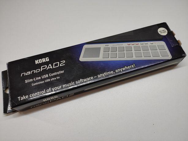 Korg NANOPAD 2 , kabel,pudełko,instrukcja