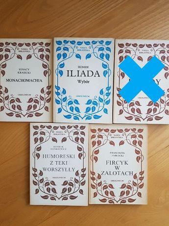 Iliada, Fircyk w zalotach, Monachomachia, Humoreski