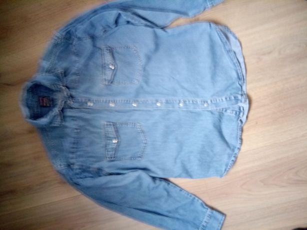 Батник джинсовый на кнопках 48 (L) Jinglers