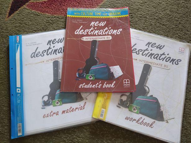 New destinations Intermediate B1 Student's Book Workbook Extra materi