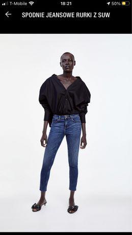 Spodnie jeans Zara rozmiar 40