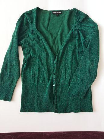 Sweterek brokatowy