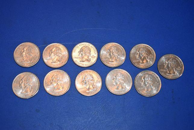 kolekcja monet dwudzistopiecio centowek . XI