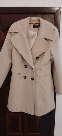 Płaszcz flauszowy rozmiar 40