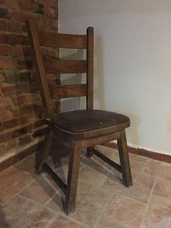 Krzesło drewniane masywne