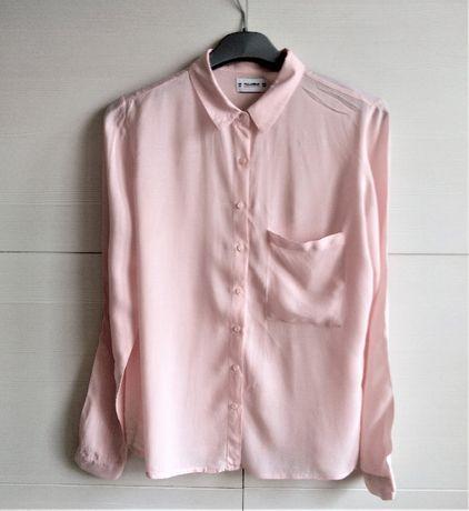 Różowa Koszula Pudrowy Róż Koszula Pull&Bear Rozmiar M