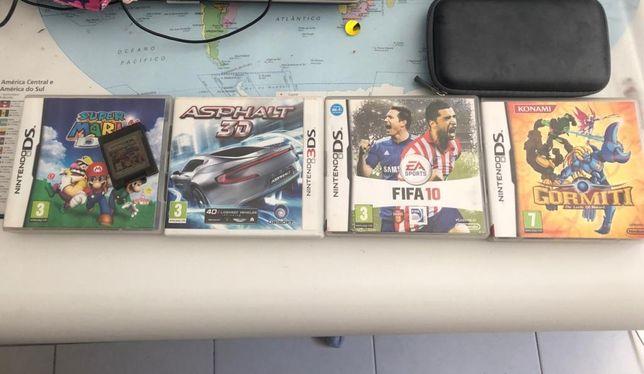 Diversos jogos pra 3Ds Nintendo