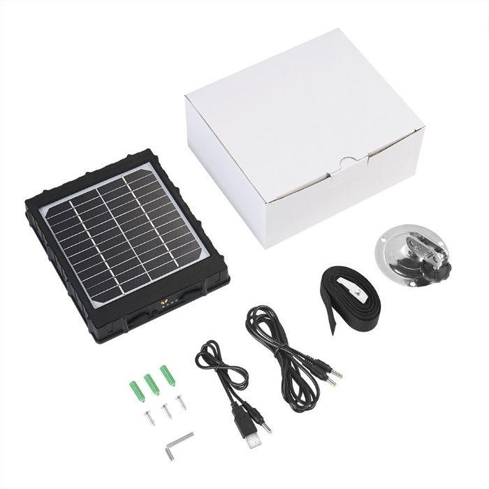 Panel solarny/słoneczny 12V, 9V, 6V z akumulatorem ZESTAW OKAZJA Tychy - image 1
