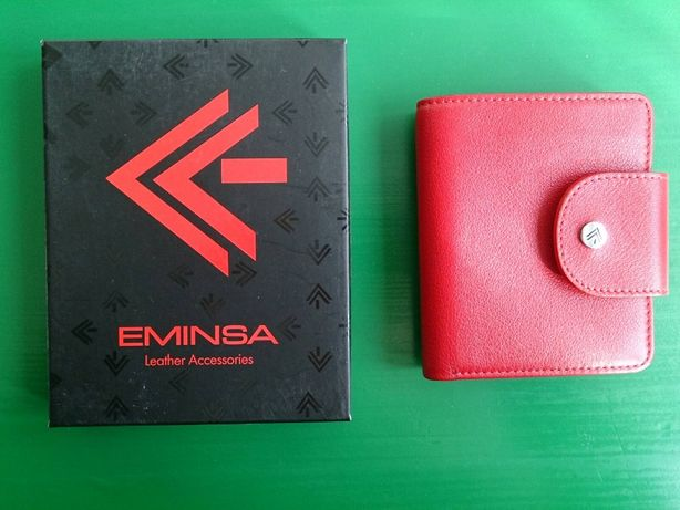 Женский кожаный кошелёк Eminsa (Турция)