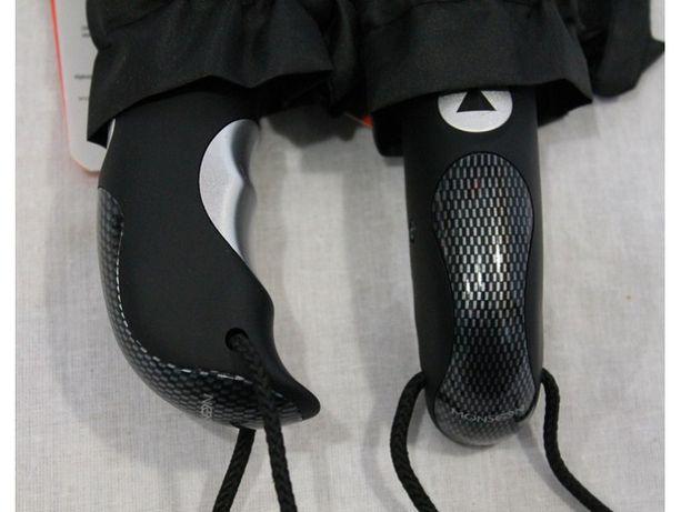 Парасоля Monsoon. Мужской зонт полуавтомат / автомат. 3 сложения.