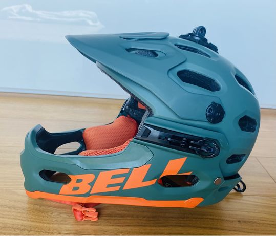 BELL Super 3R Mips Full Face kask rowerowy stan idealny