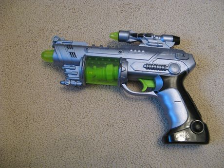 Оружие пистолет бластер