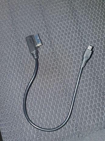 Kabel złączę adapter AMI MMI MIKRO USB AUDI VW