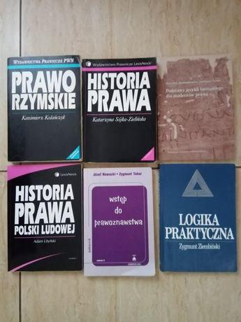 Książki dla studentów prawa