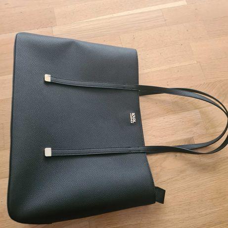 Torebka shopper czarna Karl Lagerfeld