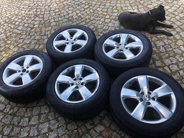 Komplet 5 szt. felg aluminiowych 19 cali - VW AMAROK