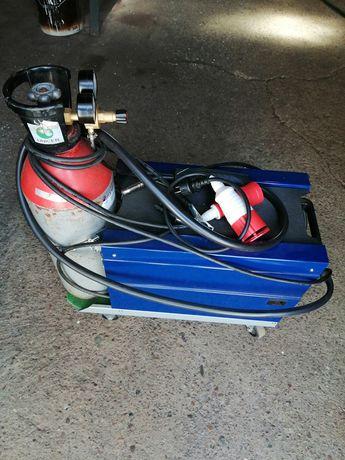 Máquina de soldar semi automática com garrafa de oxigénio