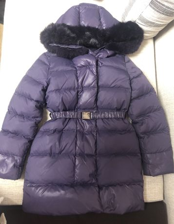 Зимнее пуховое пальто LIU JO 10 лет