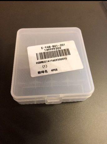 Чехол бокс кейс для хранения и перевозки аккумулятор 18650 на 4 шт