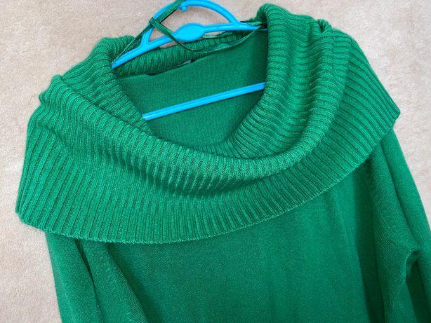 golf/bluzeczka #E.# rozm 50/52 # zielona