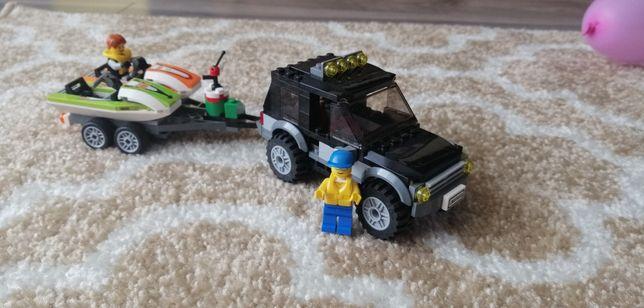 Lego city 60058 skuter łódka przyczepa terenówka
