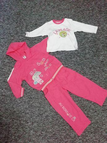 Новый прогулочный костюм тройка для девочки, 2 - 3 года
