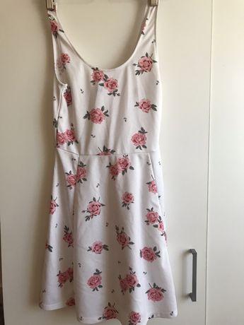 sukienka w roze h&m rozmiar s