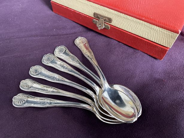 Серебряная  ложка / проба 800 / антикварное серебро / срібна ложка