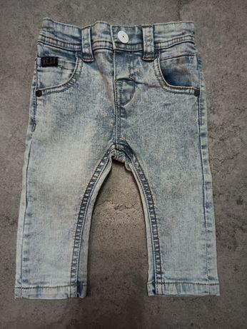 Spodnie jeansowe NEXT rozm. 3-6 msc, stan idealny